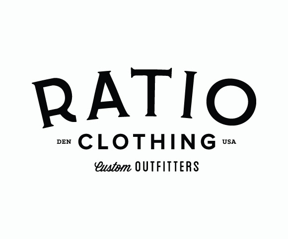 Ratio Clothing logo refresh