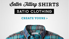 Ratio Clothing Online Ads